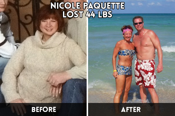 Nicole Paquette's Transformation at Family Kickboxing