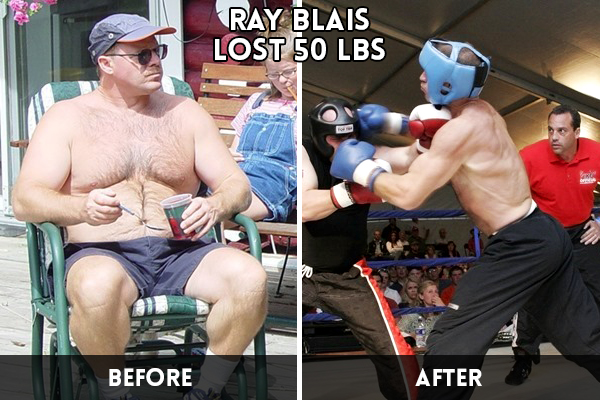 Ray Blais' Transformation at Family Kickboxing