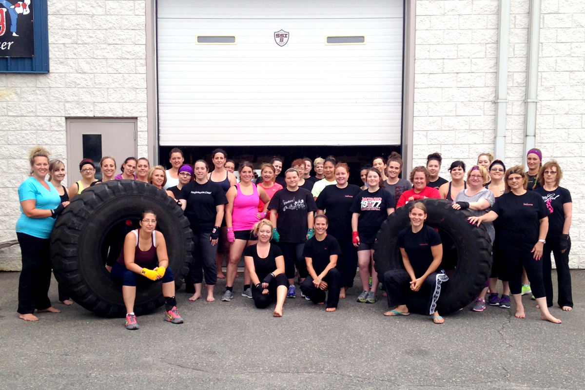 Beast Mode Class at Family Kickboxing in Sudbury, Ontario